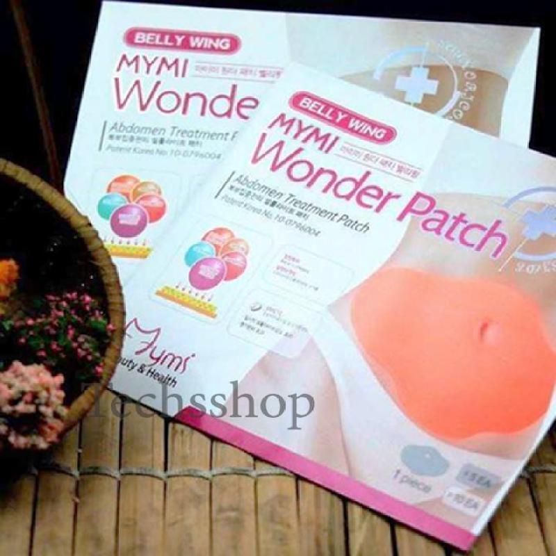 Bộ 5 Miếng dán tan mỡ MyMi Wonder Patch - Miếng dán giảm béo - Giảm mỡ bụng - Tấm dán giảm cân