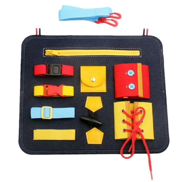 Bảng giá Dressing Learning Board Baby Early Education Cloth Book Toys Childrens Educational Aids