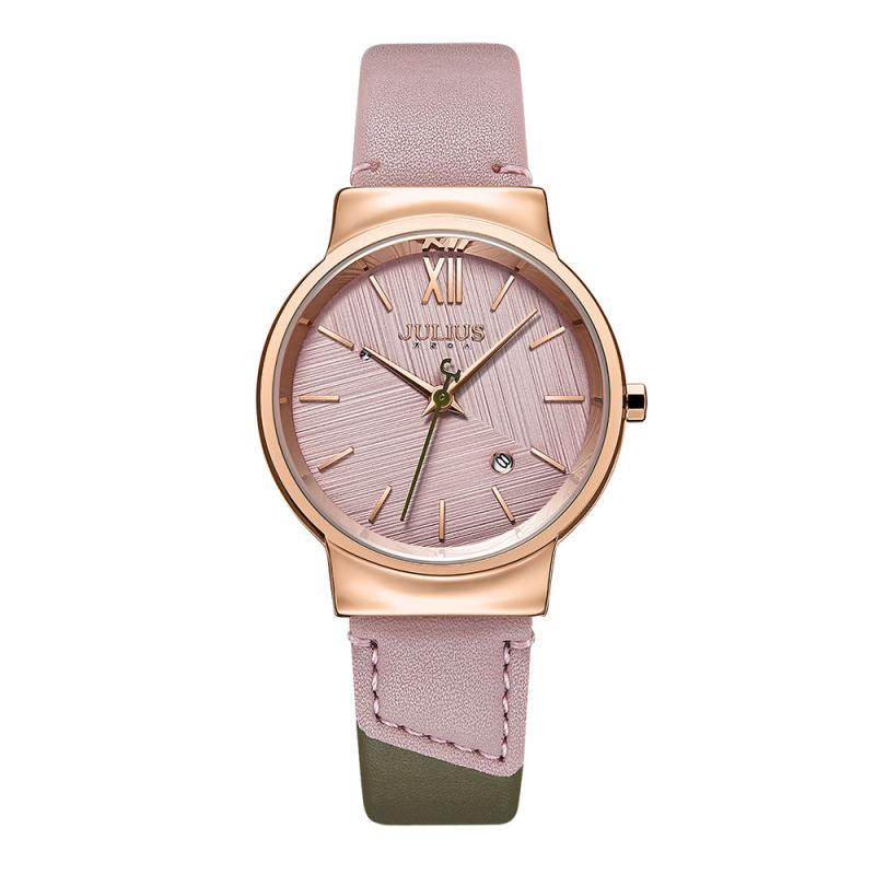 Đồng hồ nữ Julius Hàn Quốc Ja-1181 dây da (nhiều màu)
