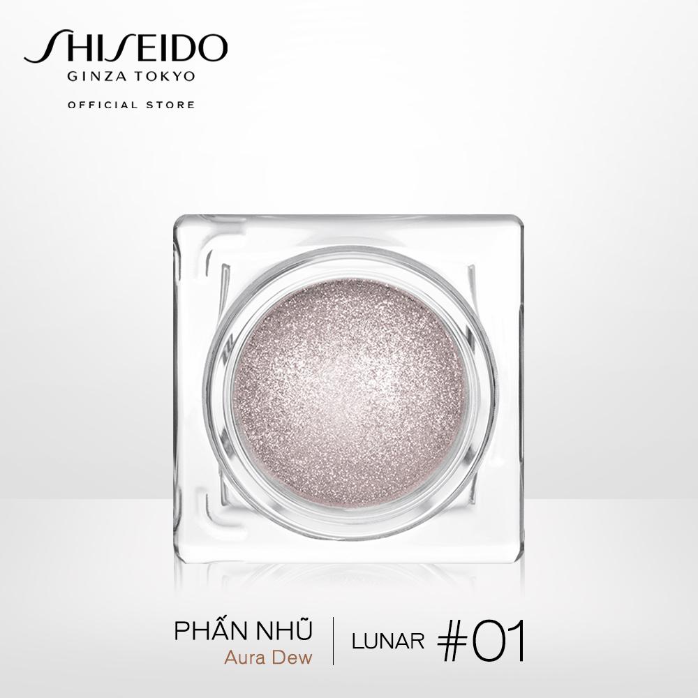 Phấn nhũ dành cho mắt, mặt và môi Shiseido Aura Dew 4.8g