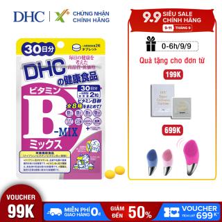 Viên uống Vitamin B tổng hợp DHC Nhật Bản thực phẩm chức năng bổ sung 8 loại vitamin B tốt cho sức khỏe và sắc đẹp gói 30 ngày XP-DHC-MIX30 thumbnail