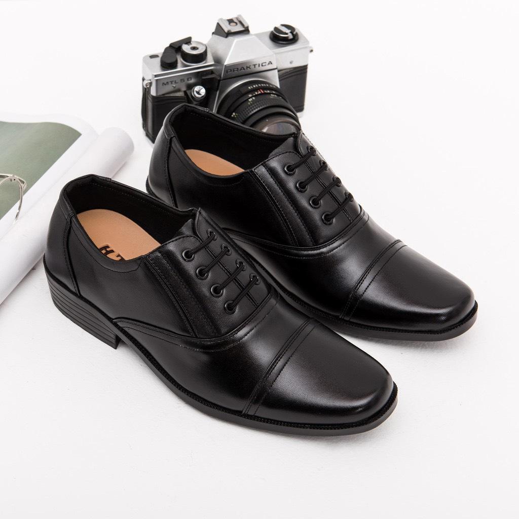 Giày Tây Nam Size Từ 39 đến 43, Kiểu Dáng Lịch Lãm, Thời Thượng, Chất Liệu Da Tổng Hợp Mềm Mại Êm Chân, Đế Cao Su Nhẹ Nhàng Chắc Chắn Với Giá Sốc