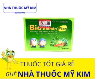Bio-acimin Fiber bổ sung chất xơ, men vi sinh (30 gói hộp) thumbnail