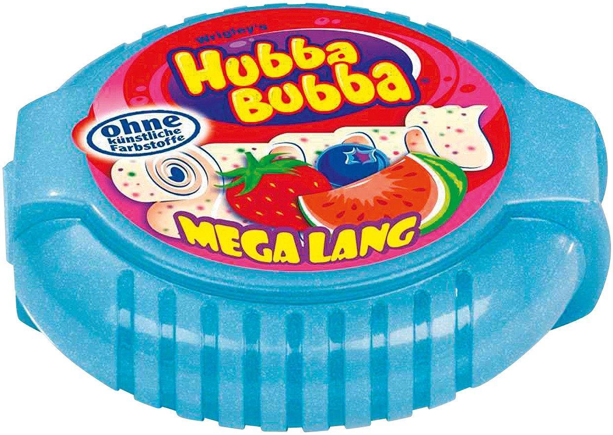 Kẹo gum ( cao su ) cuộn Hubba Bubba mega lang dài 180cm vị hoa quả ( Mẫu mới - Nội địa Gemany - Xách tay Đức )