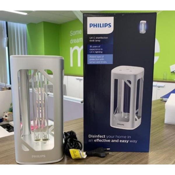 đèn bàn diệt khuẩn - khử trùng UVC Philips -  - vô hiệu vỉrus SAR COVI 2