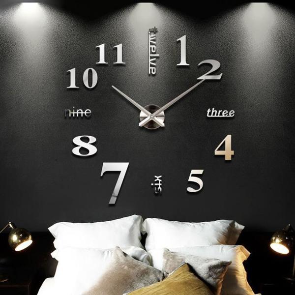 Nơi bán Đồng hồ trang trí treo tường - gắn tường sáng tạo loại lớn 3D DH01-D Decoshop68 giá tốt
