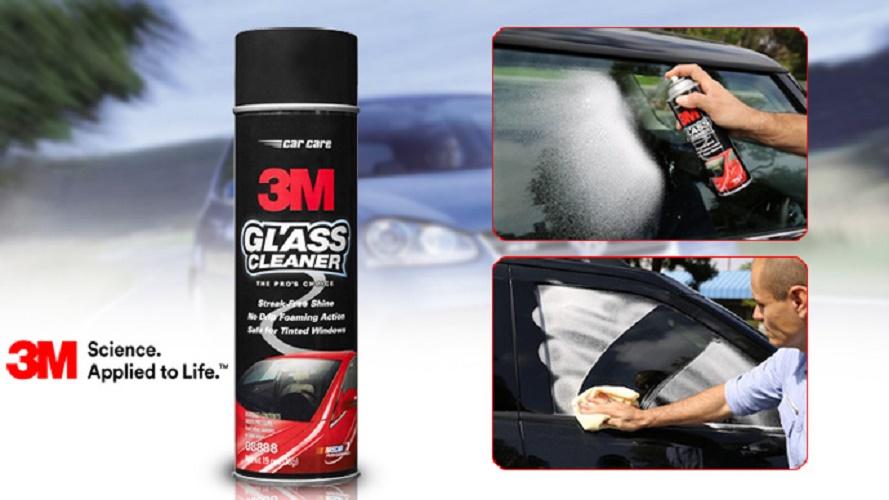 Dung Dịch Rửa Kính Và Vệ Sinh Kính Xe Hơi 3.M Glass Cleaner 08888 Ưu Đãi Bất Ngờ