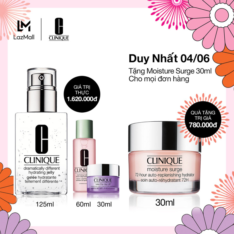 Dưỡng ẩm Clinique Dramatically Different Hydrating Jelly - Moisturizer 125ml