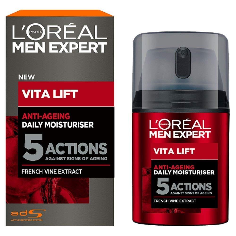 Kem chống lão hóa 5 tác động LOréal Men Expert Vita Lift 5 Anti Ageing Moisturiser, 50 ml