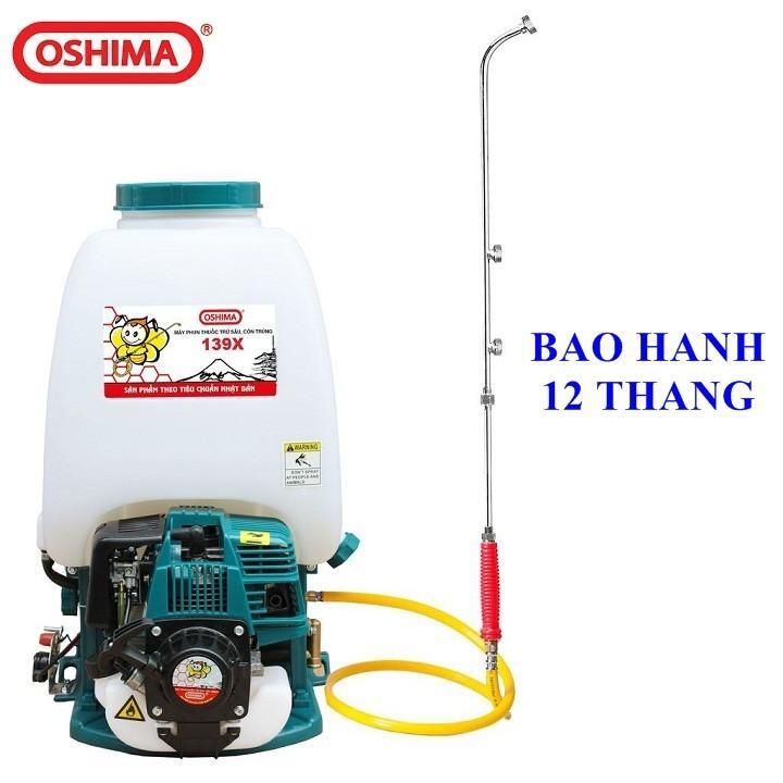 Bình xịt Oshima 139 chính hãng giá tốt- Bình xịt diệt côn trùng động cơ 4 thì