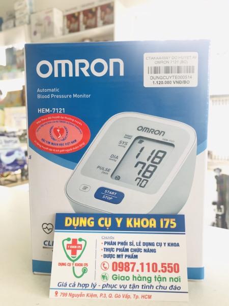 Máy đo huyết áp bắp tay Omron HEM-7121 bán chạy