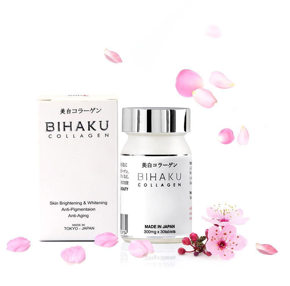 Viên trắng da chống lão hóa Bihaku Collagen nhập khẩu