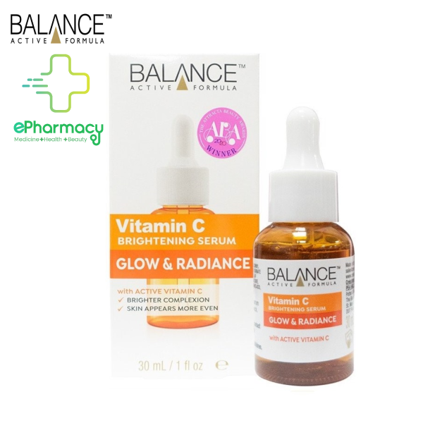 [HCM]Serum Balance Trắng Da Mờ Thâm - Balance Active Formula Vitamin C Brightening 30ml