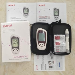 Máy đo đường huyết Yuwell Accusure710 thumbnail