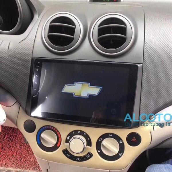 [Trả góp 0%] [Có video] Màn hình Android 9 inchs Chevrolet Aveo-gentra 2009- 2013 chạy sim 4G ra lệnh giọng nói - Bảo hành 12 tháng