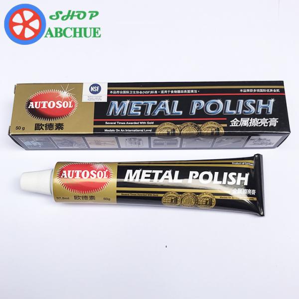 Tuýp 50g Kem Đánh Bóng Kim Loại Nhôm Đồng Inox Autosol Metal Polish