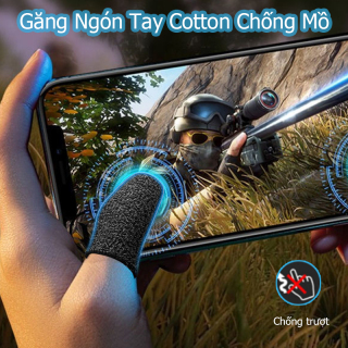 Găng tay chơi game sợi đồng, Găng tay chơi FF, PUBG, Liên quân Mobile chuyên nghiệp, chống ra mồ hôi tay, tăng độ nhạy thumbnail