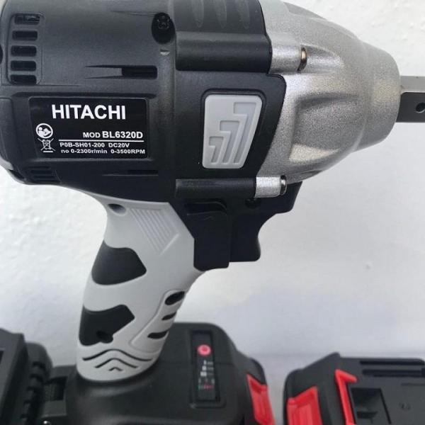 Máy siết bulong dùng pin không chổi than Hitachi 88V - Chức năng: Siết mở bulong, khoan, bắt vít, bắn tôn...