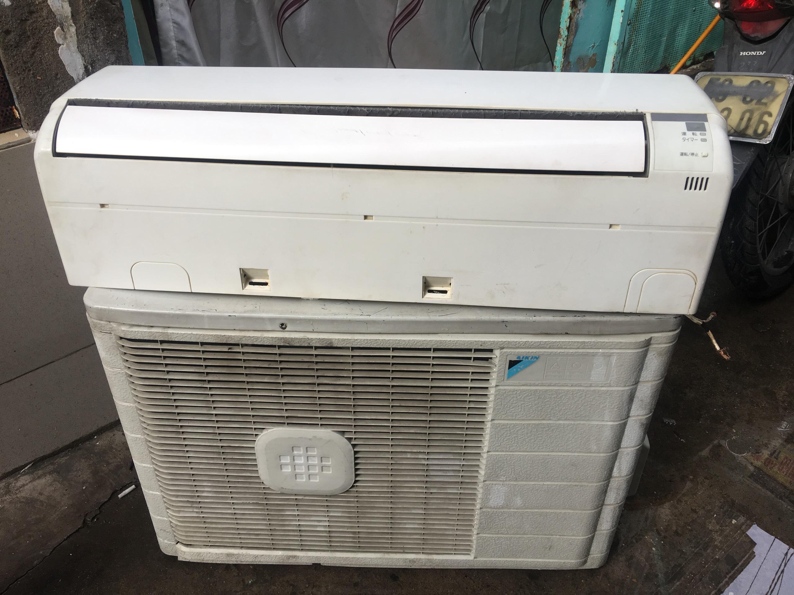 Bảng giá Máy lạnh Daikin inverter mới 85% giá rẻ tiết kiệm điện Daikin 1HP inverter nội địa - bao lắp đặt(chỉ nội thành HCM)