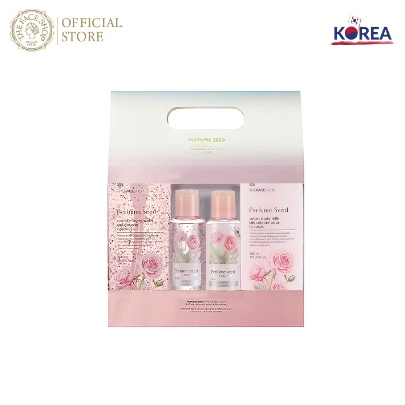 Bộ Sản Phẩm Sữa Tắm & Sữa Dưỡng Thể Perfume Seed Special Body Set