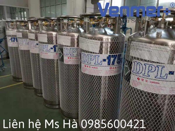 Bình XL45 chứa lỏng Nito 23bar