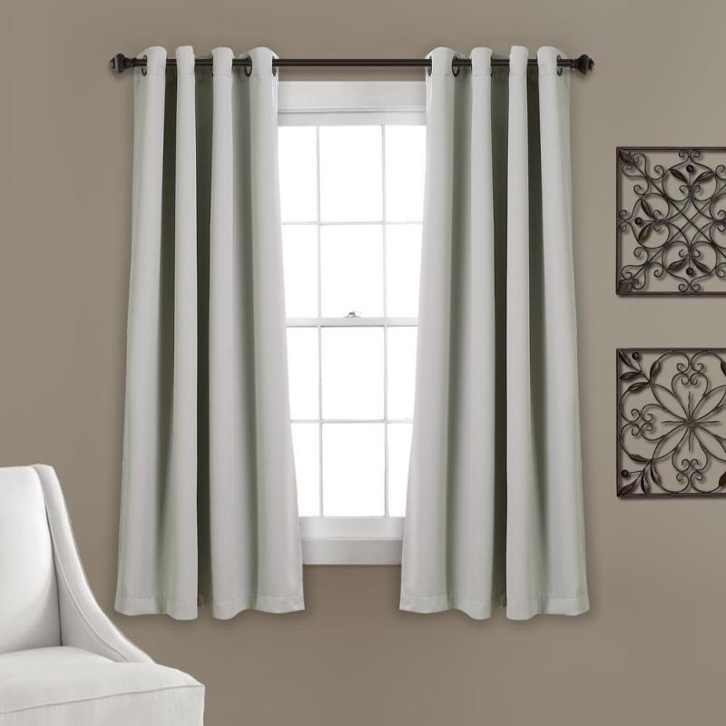 Rèm cửa sổ vải trơn một màu chống nắng - Màu Trắng - Màn cửa sổ đẹp HCM & Giao Toàn Quốc
