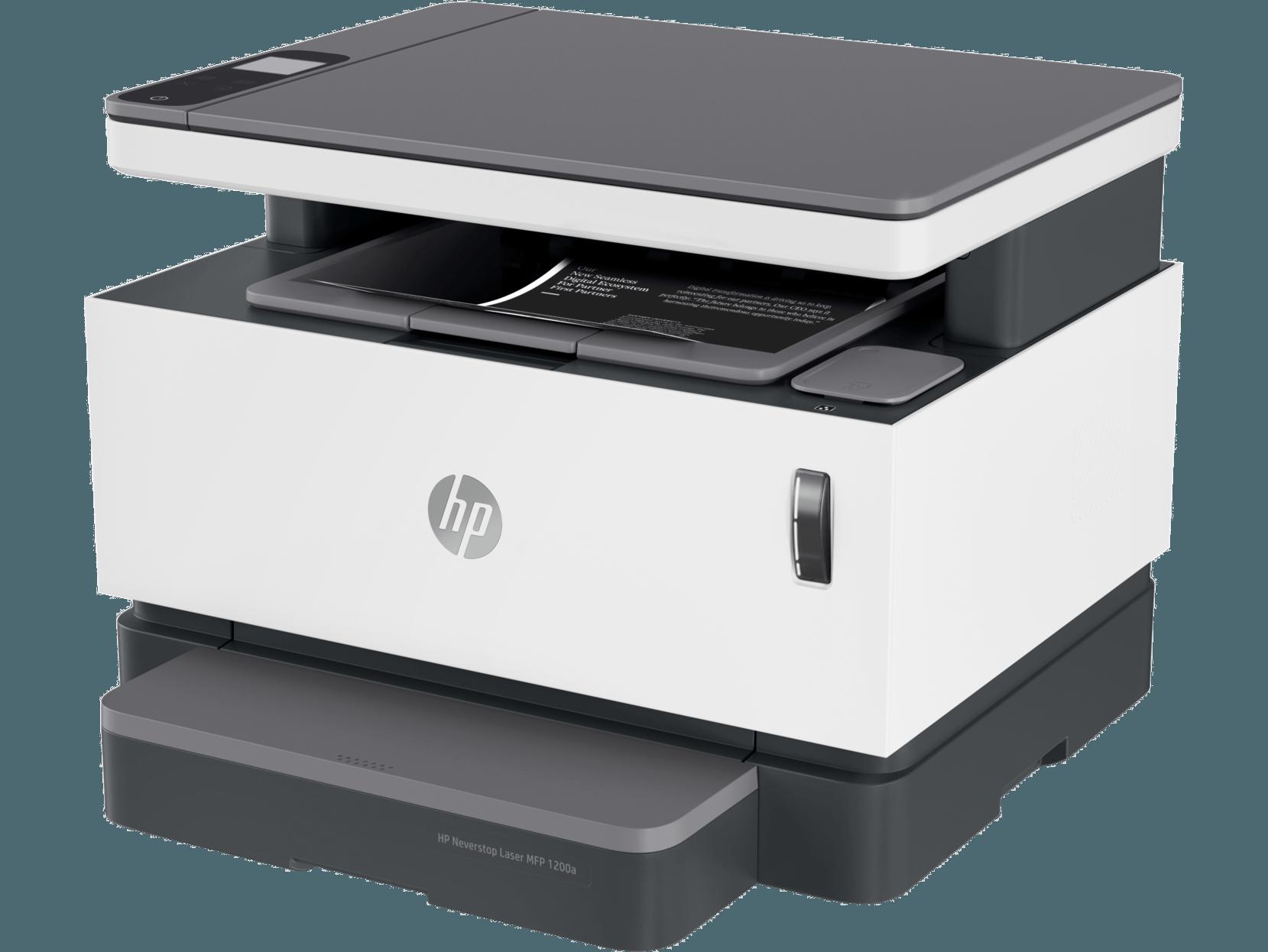 Máy in HP Neverstop Laser MFP 1200W(4QD26A) - Tặng kèm 01 hộp mực HP 103A