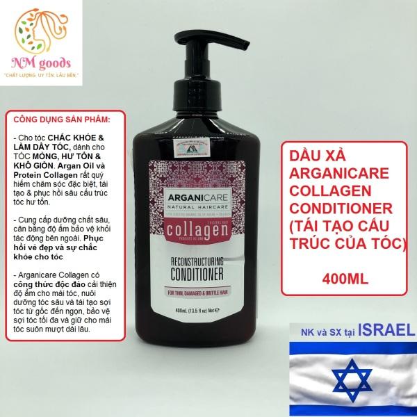 Dầu Xả Arganicare Collagen  (Tái Tạo Cấu Trúc)