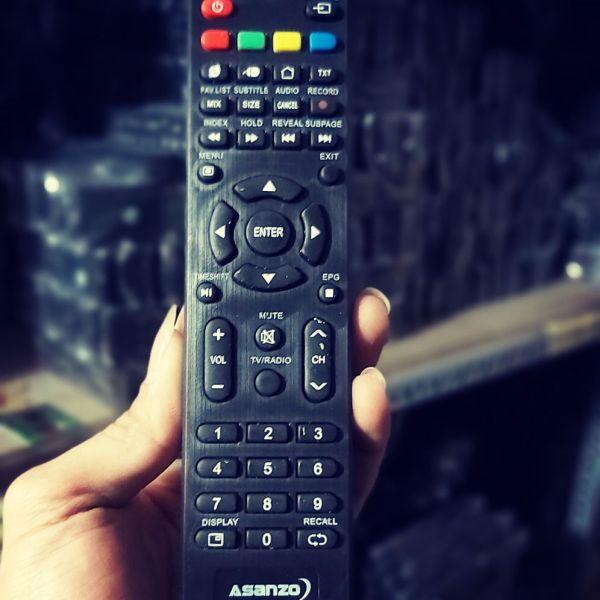 Bảng giá điều khiển tivi ASANZO smat mỏng