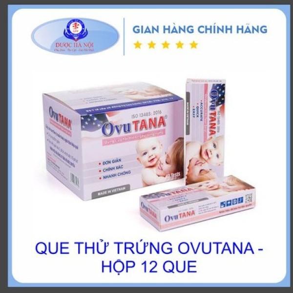 Que thử rụng trứng Ovutana - Chính xác cao - Hộp 12 que