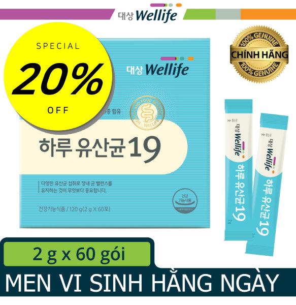 [Men vi sinh bảo vệ sức khỏe hằng ngày Hàn Quốc] Daesang Wellife/ Daily probiotics 19