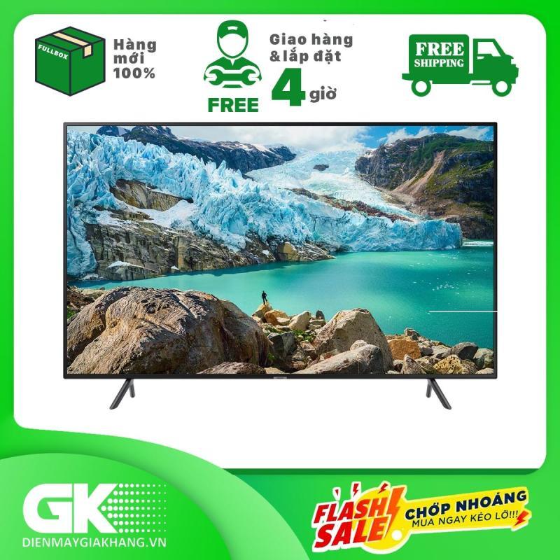 Bảng giá Smart Tivi Samsung 4K 43 inch UA43RU7100 Mẫu 2019