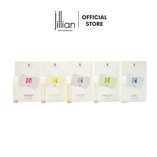 Bộ nước hoa mini GenZ x Jillian 5 mùi hương x 2ml