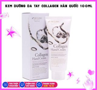 Kem Dưỡng Da Tay Tinh Chất Collagen 3W Clinic Hand Cream 100ml thumbnail