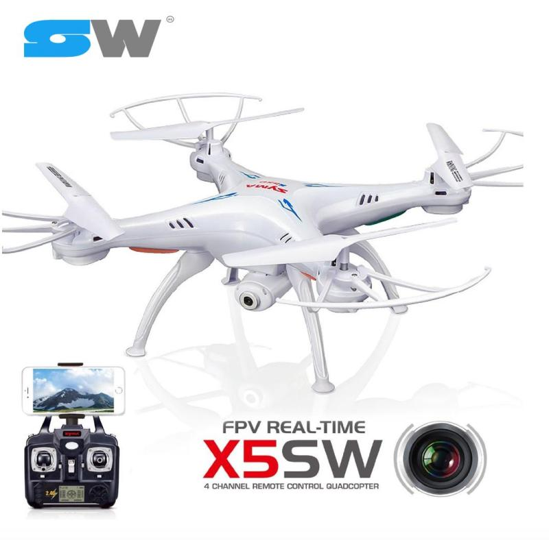 [SWTOYS] FLYCAM Tập Chơi SYMA X5SW-1 Bản Nâng Cấp, Camera 2.0MP Truyền Hình Ảnh Trực Tiếp Qua Điện Thoại