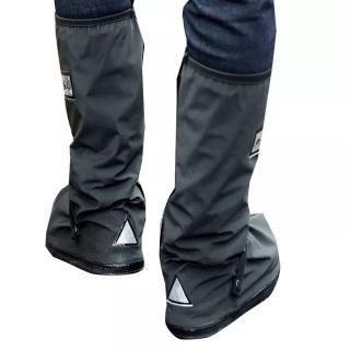 Ủng bọc giày đi mưa đế cao su chống trượt cao cấp M212 ( màu đen) thumbnail