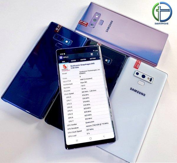 Điện thoại Samsung Galaxy Note 9 bản MỸ chip Snapdragon 845 - Ram 6/128GB - PIN trâu 4000mAh - Máy zin chính hãng