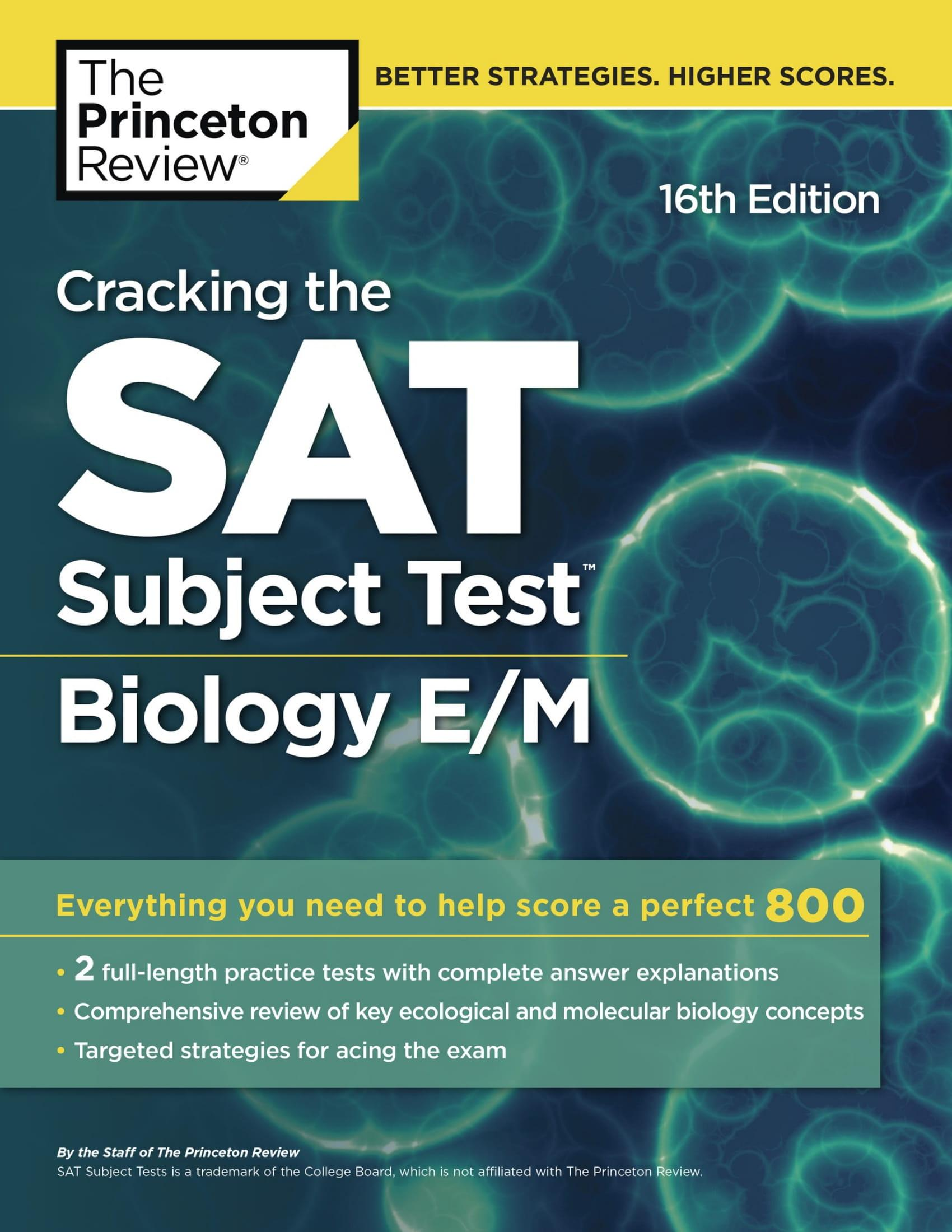 Mua Cracking the SAT Subject Test in Biology E/M, 16th Edition