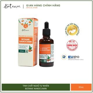 Tinh nghệ nano Botanie Nanocumin - Giảm đau dạ dày, hỗ trợ mau lành vết loét dạ dày, tá tràng (35mL) thumbnail
