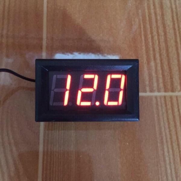 Bảng giá Vôn kế DC Led 0.56 đo điện áp pin ắc quy 5-30V