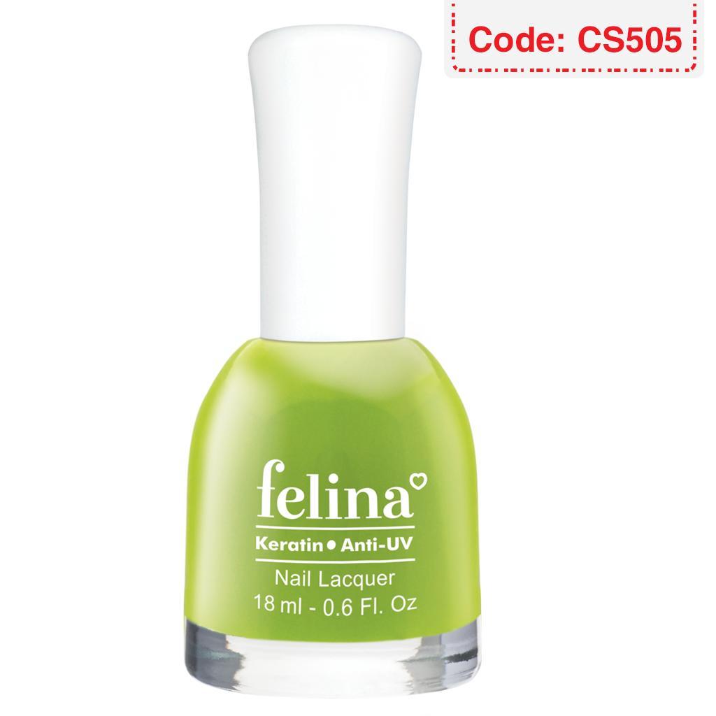 Sơn móng tay Felina 18ml - Màu Xanh bơ - Code CS505 tốt nhất