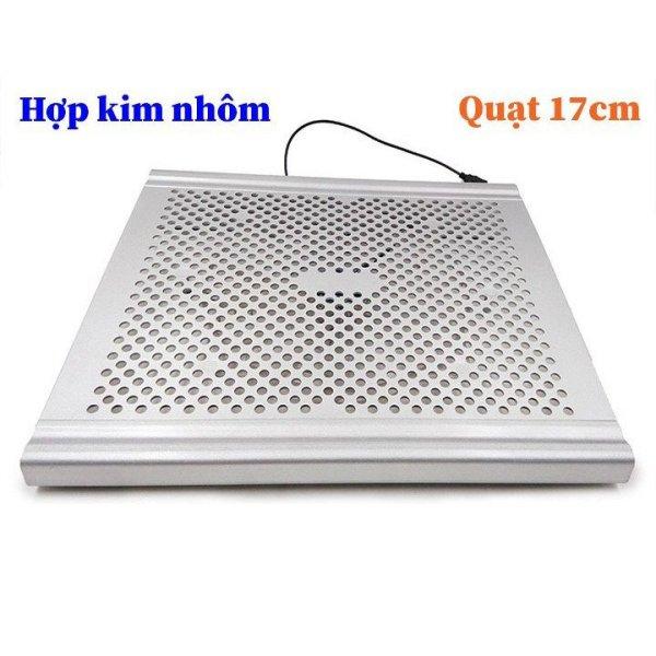 Bảng giá Đế tản nhiệt nhôm quạt 17cm cho laptop MacBook DTN7 Phong Vũ