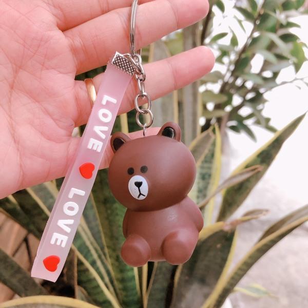Móc khóa bé gấu nâu Phụ Kiện 68