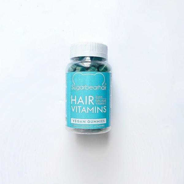Kẹo dẻo mọc tóc Sugar Bear Hair 60 viên Mỹ