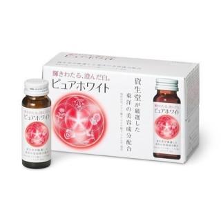 Nước Uống Collagen Shiseido Pure White Trắng Da giảm Nám 50ml x 10 Lọ thumbnail