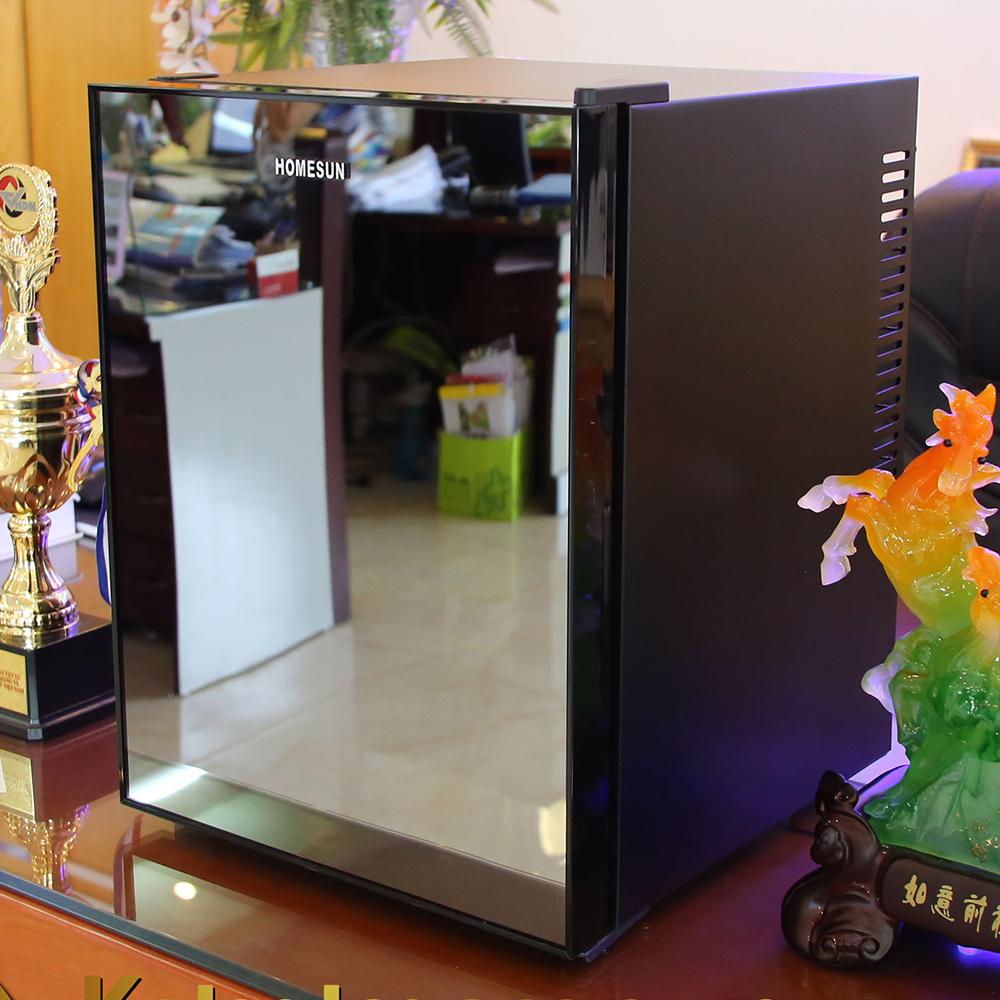 Lazada Ưu Đãi Khi Mua Tủ Mát - Minibar, Tủ Bảo Quản Mỹ Phẩm, Cánh Gương, Model: BCH-40B2, Thương Hiệu Homesun, Thể Tích 40L