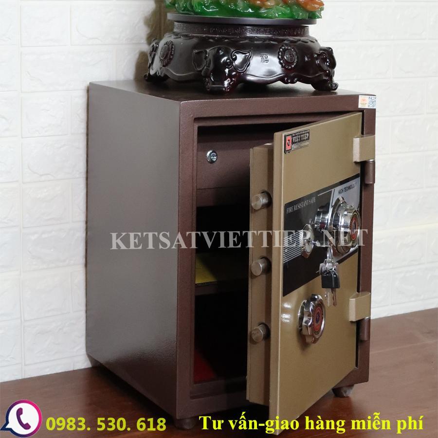 [CHINH HANG]Két sắt Việt Tiệp VD88 (khóa cơ)-Két sắt phong thủy-55kg