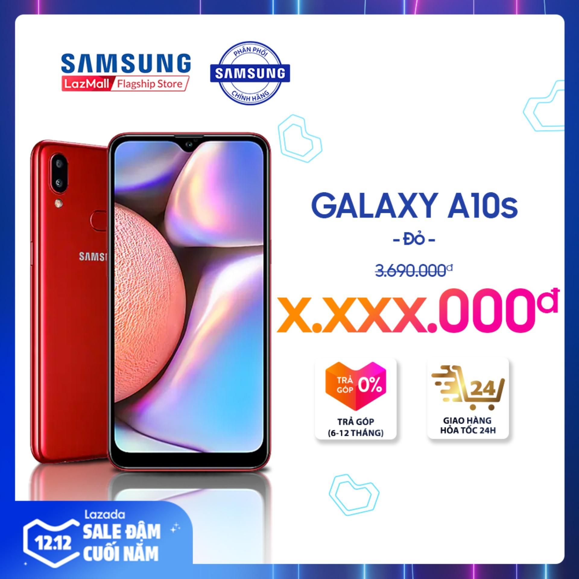 Samsung Galaxy A10s 32GB RAM2GB - Màn Hình Tràn Viền 6.2 + Công Nghệ Nhận Diện Khuôn Mặt + Cảm Biến Vân Tay Một Chạm Mặt Lưng + 2 Camera Sau + Pin 3500mAh - Hàng Phân Phối Chính Hãng Có Giá Tốt
