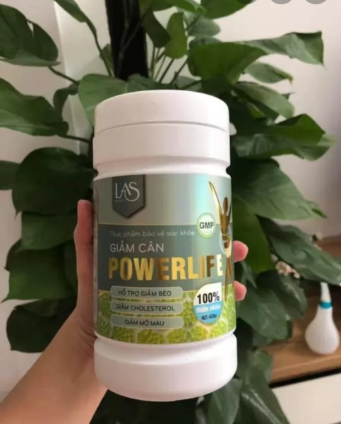 [Chính Hãng] Trà Sữa Giảm Cân Powerilfe hũ 260gr nhập khẩu