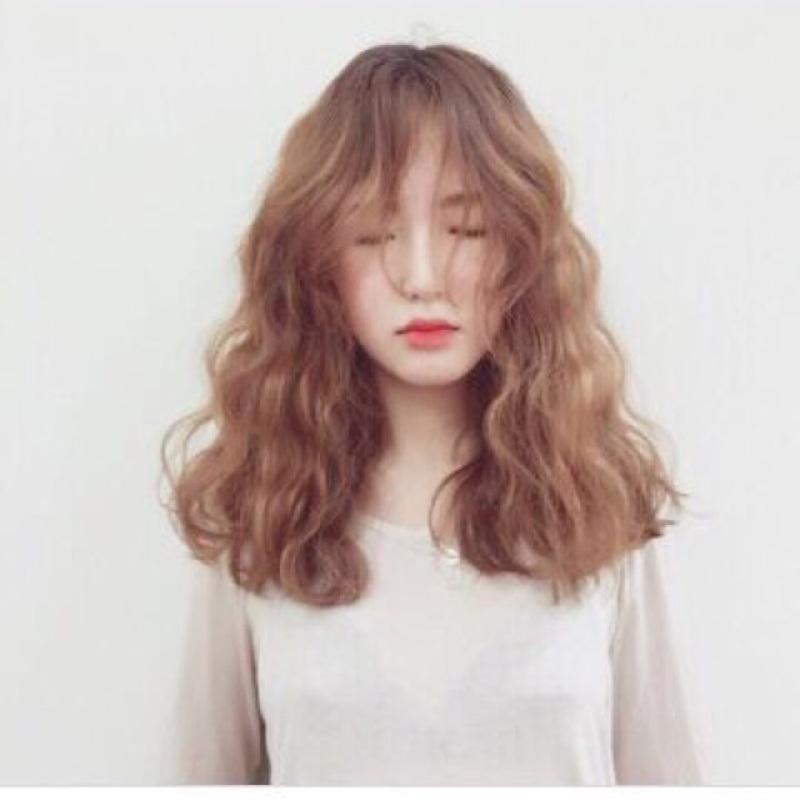 Tóc giả cả đầu ❤️FREESHIP 😍 tóc giả nguyên đầu xù lửng- mã 8184 nhập khẩu